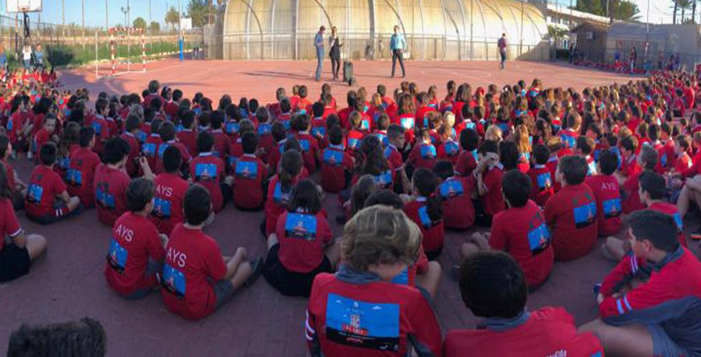 CSR: Via Nature apoya la Carrera Solidaria del colegio AYS contra la Leucemia Infantil