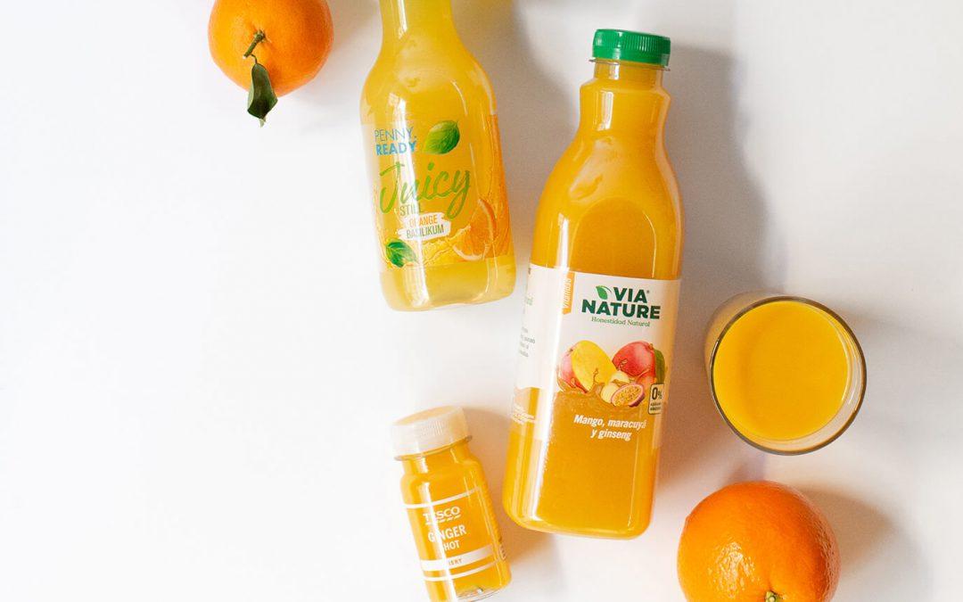Zumo de naranja: 100% Fruta, Salud que se bebe