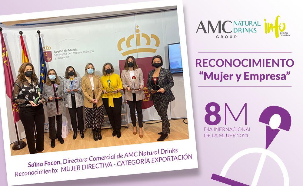 """Directora Comercial Saïna Facon, reconocida con el galardón """"Mujer y Empresa"""""""